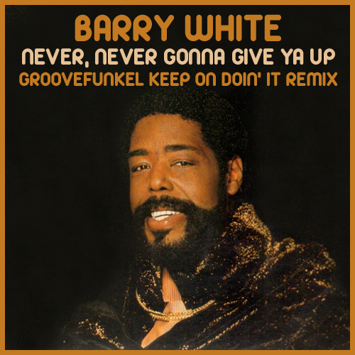 Groovefunkel Remixes Album 09 Barry White Never Never Gonna